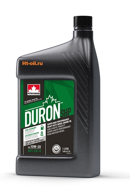 DURON SHP 10W-30 моторное масло для дизельных двигателей Petro-Canada (1 литр)