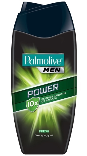 Palmolive Men. Power. Гель для душа, 250 мл