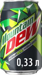Напиток газированный Mountain Dew 0,33л