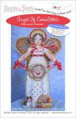 Brooke`s Books Publishing Angel of Cross Stitch