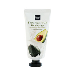 Крем для рук FarmStay Tropical Fruit Hand Cream, авокадо и масло ши