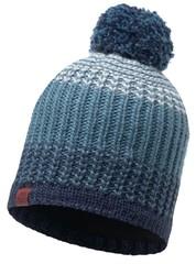Вязаная шапка с флисовой подкладкой Buff Borae Mazarine Blue