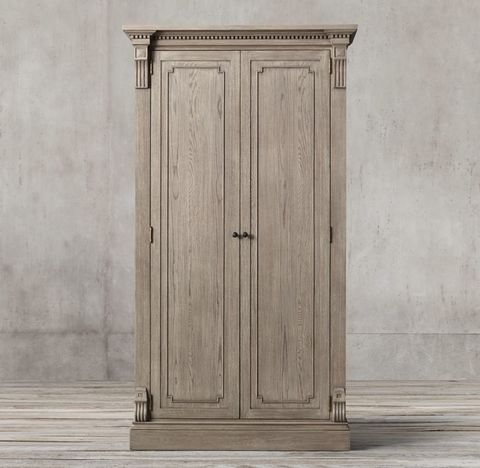St. James Panel Double-Door Cabinet