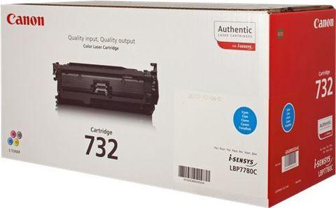 Тонер-картридж Canon Cartridge 732 голубой (6400 стр) 6262B002