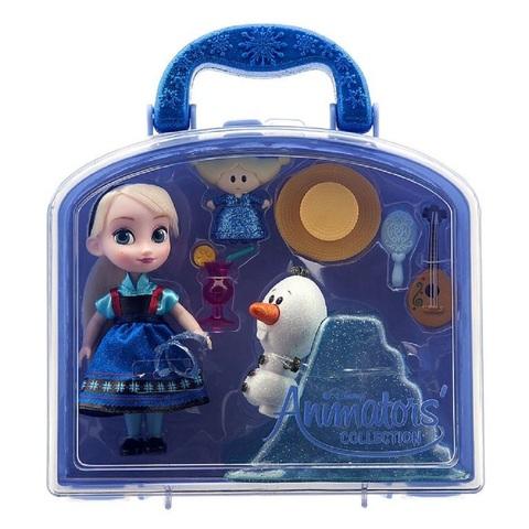 Дисней Аниматор Холодное сердце набор с мини-куклой Эльзой
