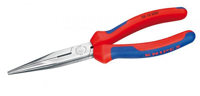 Длинногубцы с режущими кромками Knipex KN-2612200
