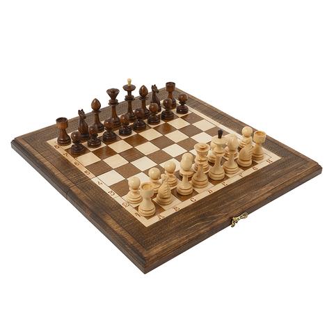 Шахматы + Нарды резные 40, Haleyan kh112
