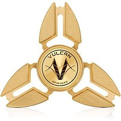 Fidget Spinner Triangle Gold