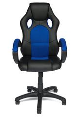 Кресло компьютерное Рейсер  (Racer GT) — черный/синий (36-6/10)
