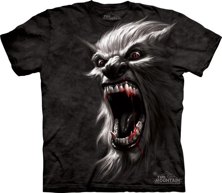 Футболка Mountain с изображением оборотня - Werewolf