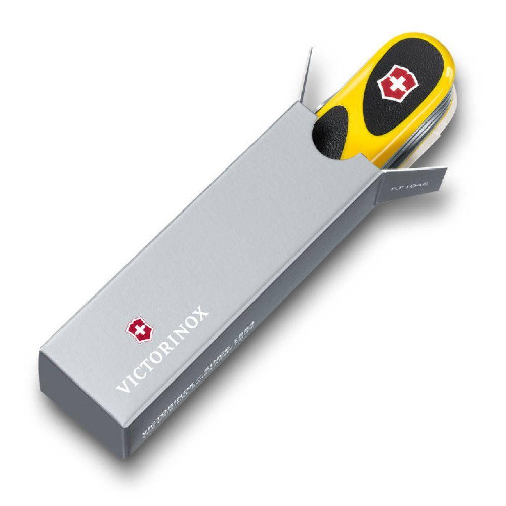 Нож Victorinox EvoGrip S18, 85 мм, 15 функ, желтый