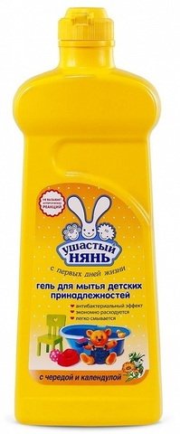 Ушастый нянь. Гель для мытья детских принадлежностей, 500 мл