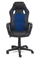 Кресло Рейсер (Racer NEW) — черный/синий (36-6/10)