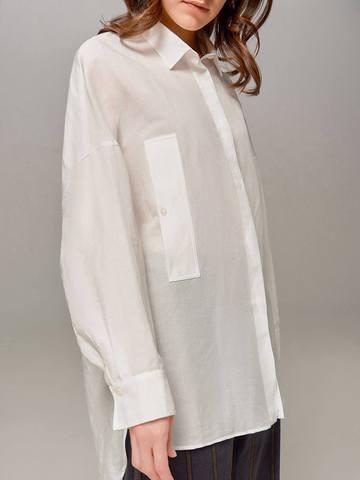 Женская блузка молочного цвета Olmar GentryPortofino - фото 4