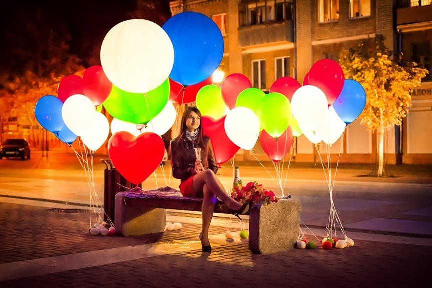 Светящиеся шары, светодиодные шары, шаровски.рф