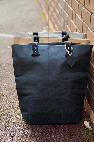 Сумка-шоппер из текстильного крафта, 3 цвета