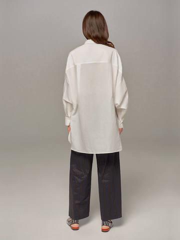 Женская блузка молочного цвета Olmar GentryPortofino - фото 5