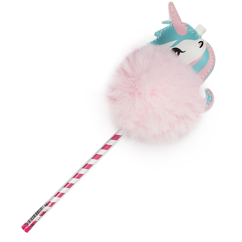 Ручка Fluffy Unicorn Pink