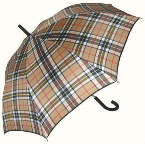 Зонт-трость Guy de Jean-CR- British caramel