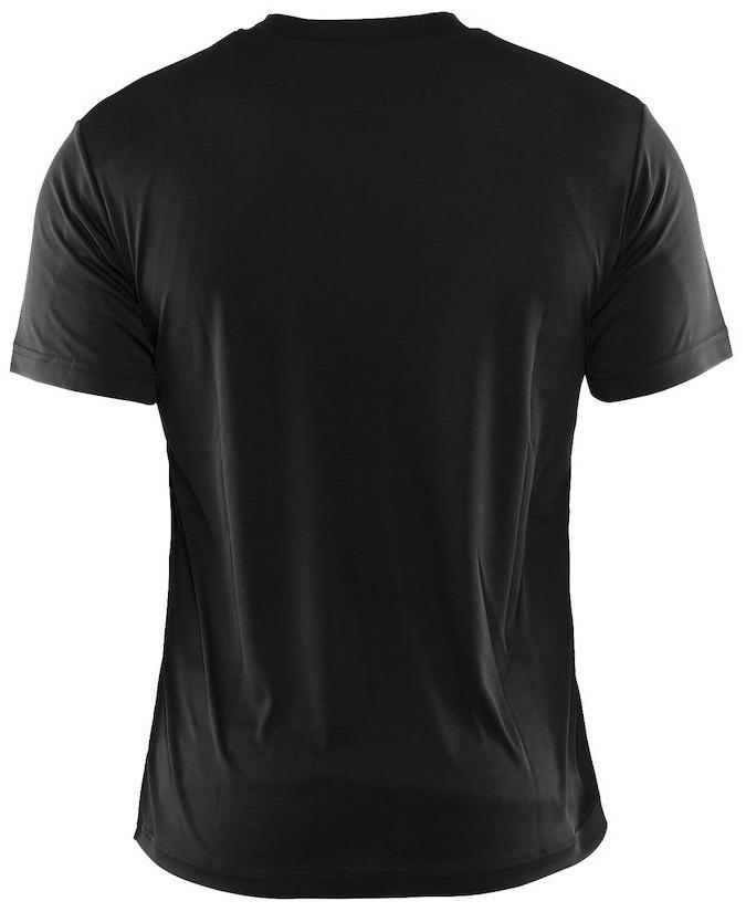 Мужская спортивная футболка для бега Craft Active Run (198921-1999) черная фото