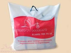 Полиэтиленовый пакет-чехол для прозрачной сумки фото 1