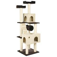Trixie комплекс для кошки Mariela, высота 176 см коричневый / бежевый