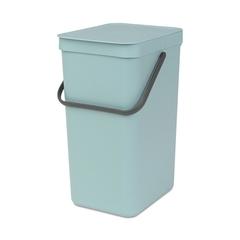Ведро для мусора Brabantia Sort&Go мятное 16л