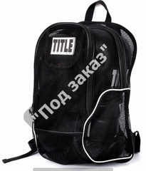 Рюкзак TITLE BOXING® MESH EQUIPMENT BACKPACK