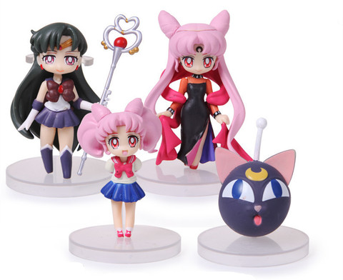 Sailor Moon Action Figure Toys Set 02