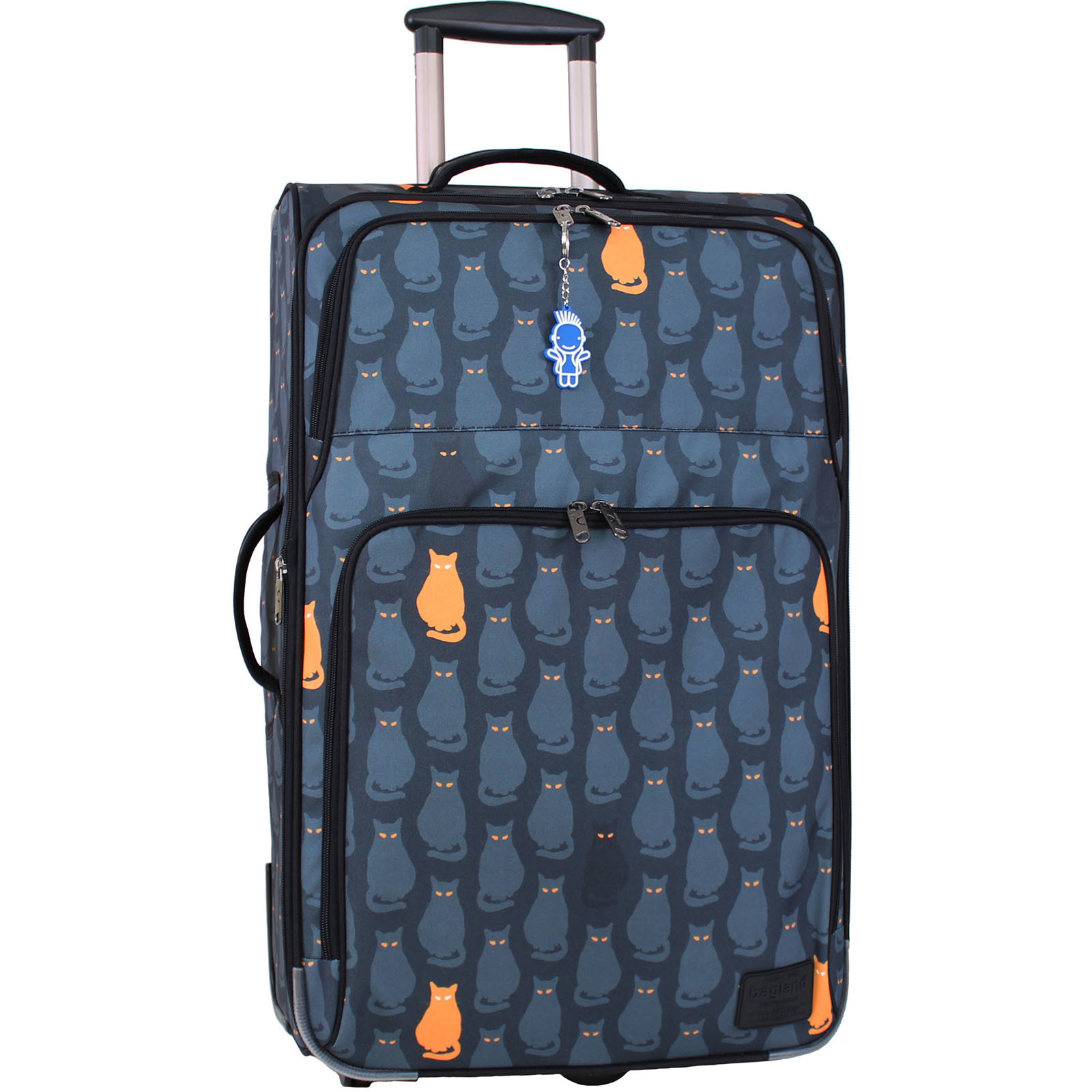 Дорожные чемоданы Чемодан Bagland Леон большой дизайн 70 л. сублімація 193 (0037666274) IMG_9807.JPG