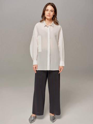 Женская блузка молочного цвета Olmar GentryPortofino - фото 3