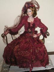 Кукла фарфоровая коллекционная Marigio Тициана