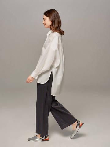 Женская блузка молочного цвета Olmar GentryPortofino - фото 2