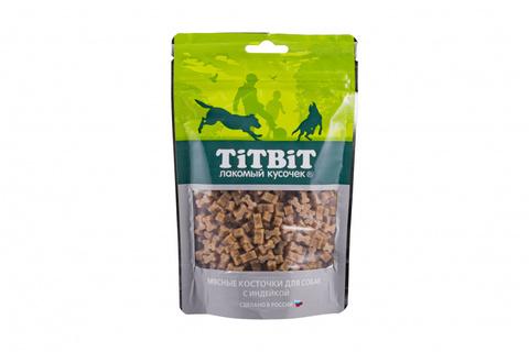 Titbit косточки мясные для собак с индейкой