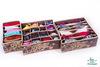 Набор из 3-х органайзеров для белья, Париж, Горький Шоколад