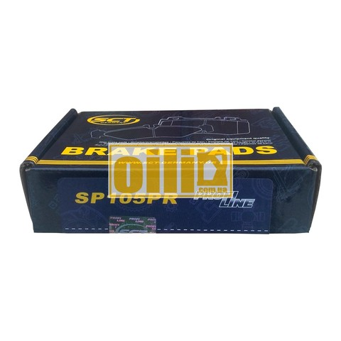 sct тормозные колодки sp-104 (mercedes-benz, мерседес)