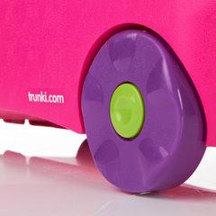 чемоданчик на колёсиках розовый
