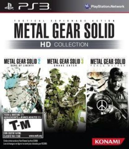 Sony PS3 Metal Gear Solid HD Collection (русская документация)