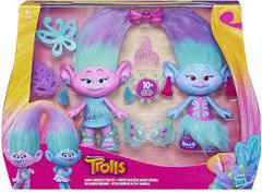 Dreamworks Trolls Satin and Chenilles Style Set