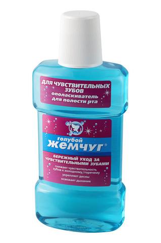 Modum ГОЛУБОЙ ЖЕМЧУГ Ополаскиватель для полости рта Для чувствительных зубов 350мл