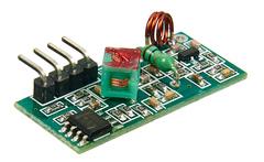 Беспроводной приёмник на 433 МГц