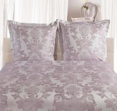 Постельное белье 2 спальное евро Curt Bauer Louis XIV розовато-лиловое
