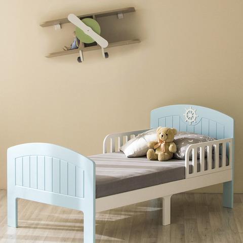 Кровать подростковая Феалта-baby Юнга, голубая