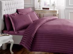 Постельное белье NEW JAQUARD лиловый жаккард  deluxe TIVOLYO HOME Турция
