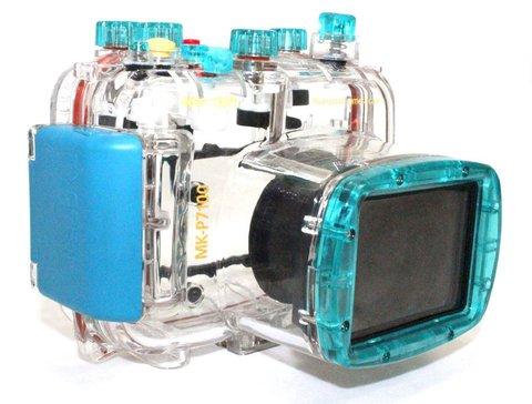 Бокс для подводной съемки для Nikon P7100  (аквабокс) Jnt 40m