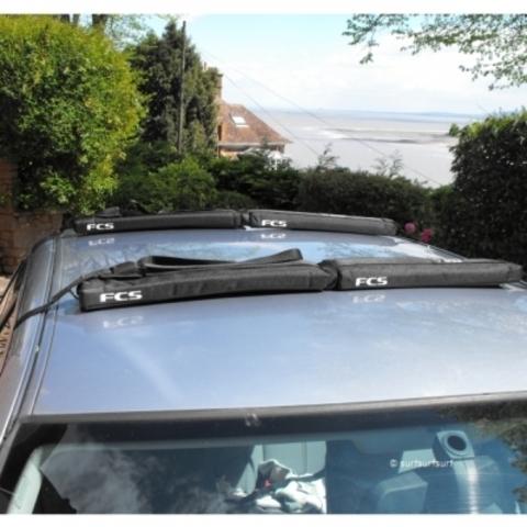 Ремни для перевозки досок для серфинга (для двух досок) FCS Premium Soft Racks Double