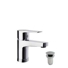 Смеситель для раковины с автоматическим клапаном TITANIUM 1801VA1169