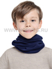 Детский баф с шерстью мериноса Norveg Монстр 7WBU темно-синий