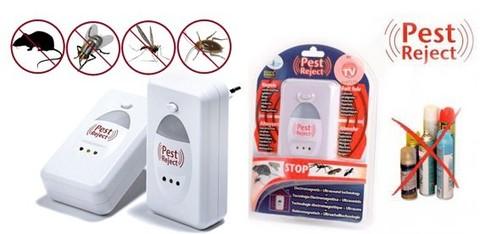 Pest Reject - Пест Реджект ультразвуковой отпугиватель насекомых и грызунов