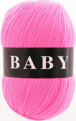 Пряжа Baby (Vita) 2874 Ультра-розовый фото